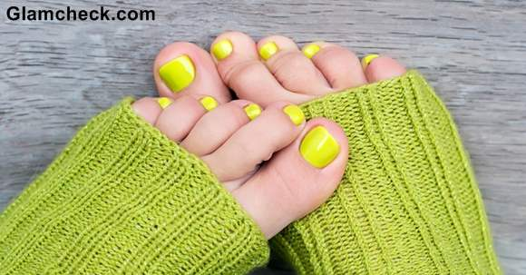 Green Nail Art Ideas for toes