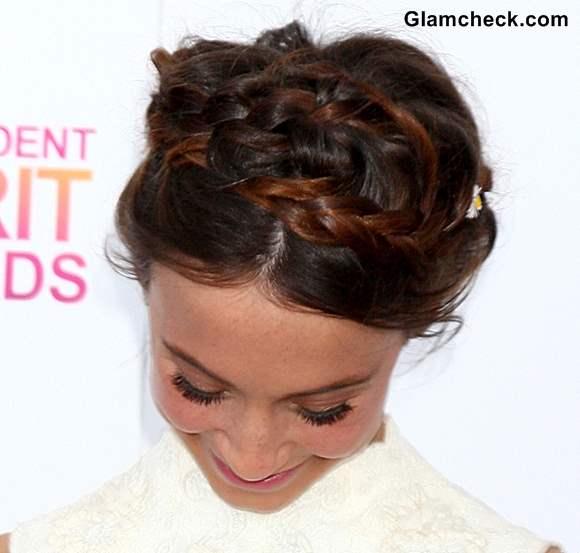 Hairstyle How To Milkmaid Braid tella Maeve