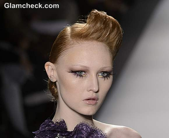 Hairstyle Venexiana Fall 2013 Mercedes-Benz Fashion Week
