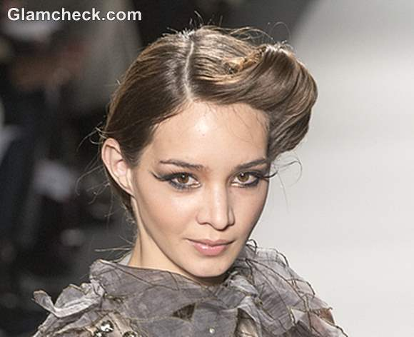 Hairstyle at Venexiana Fall 2013 Mercedes-Benz Fashion Week