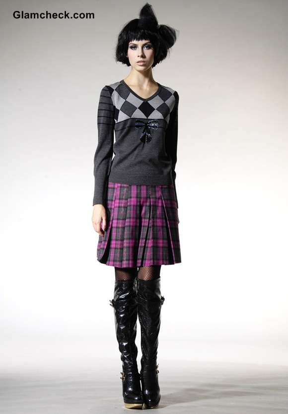 How to layer skirts in winters-Dressing tips