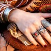 How to wear the Multiple Rings trend