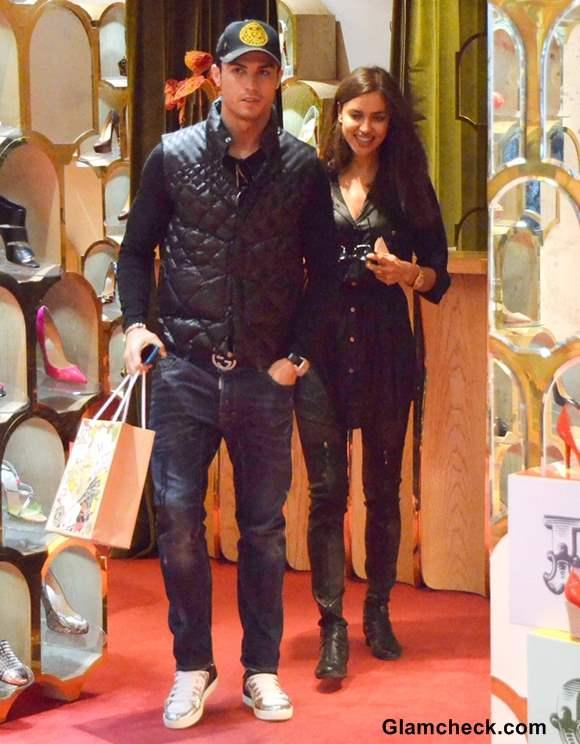 Irina Shayk and Cristiano Ronaldo celebrity couples