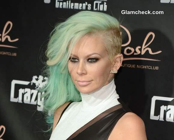 Jenna Jameson Birthday Green Hair Color