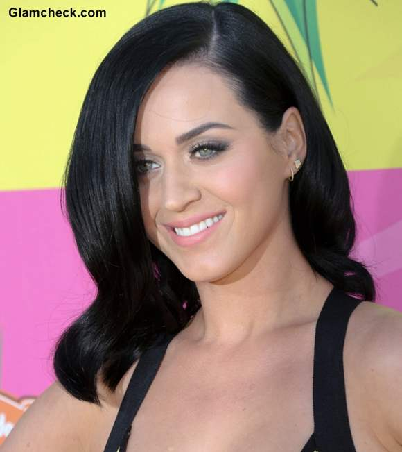 Katy Perry Hairstyle 2013 at Nickelodeon Annual Kids Choice Awards