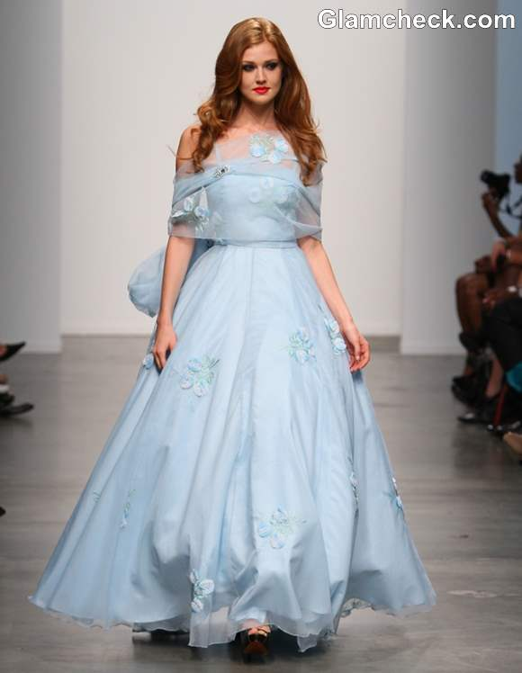 Light-Blue Ball Gown s-s 2013 -KabukiU