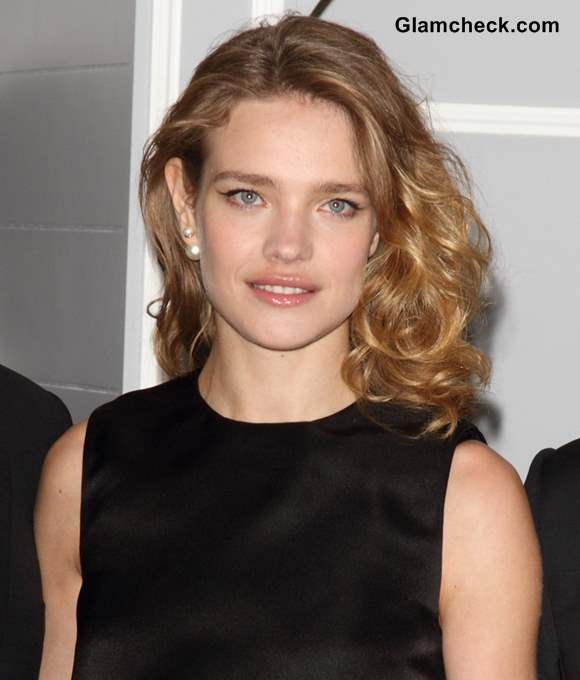 Natalia Vodianova Divine In Lbd At Dior At Harrods Photocall
