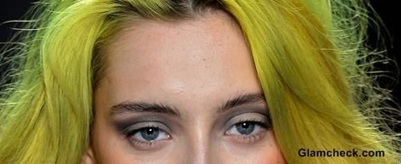 Nicole Miller Yellow Orange Ombre hair fall-winter 2013