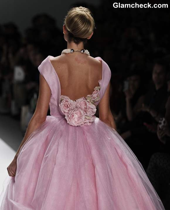 Pink ball gown s-s 2013 Zang Toi