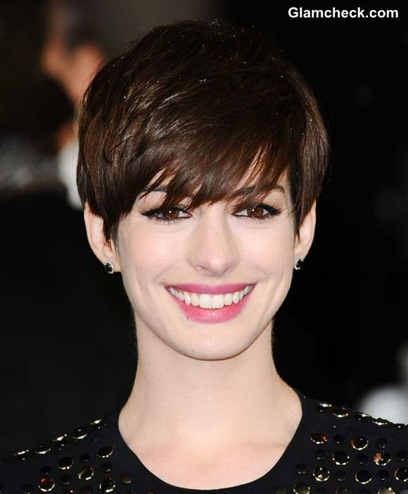 Pixie Hair Anne Hathaway