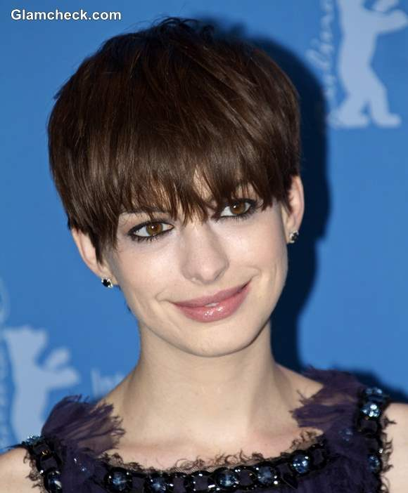Shaggy Pixie Hair Anne Hathaway