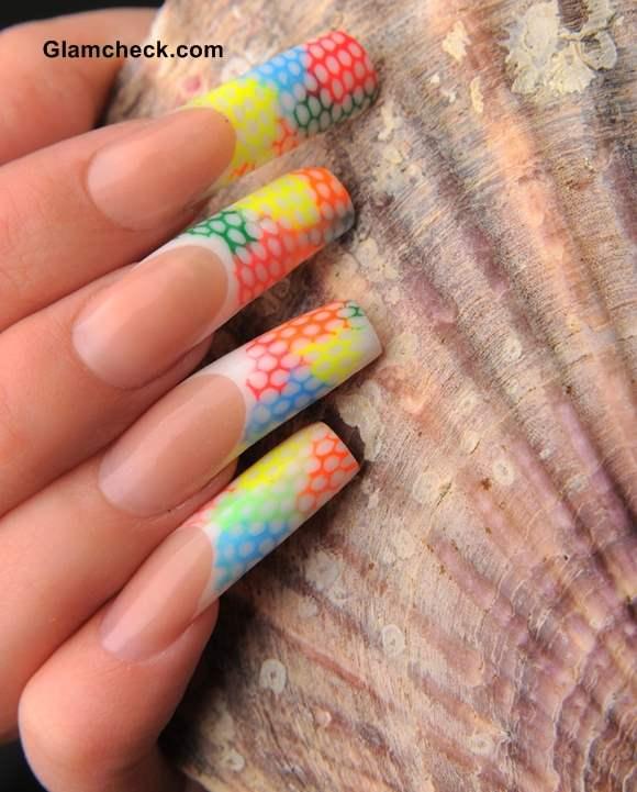 Spring nail art candy nails
