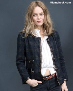 Vanessa Paradis Oozes Parisian Chic at Paris Fashion Week F/W 2013 Chanel Show
