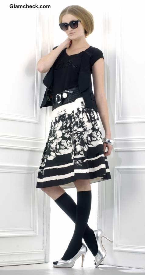 Wearing Skirts in Winters
