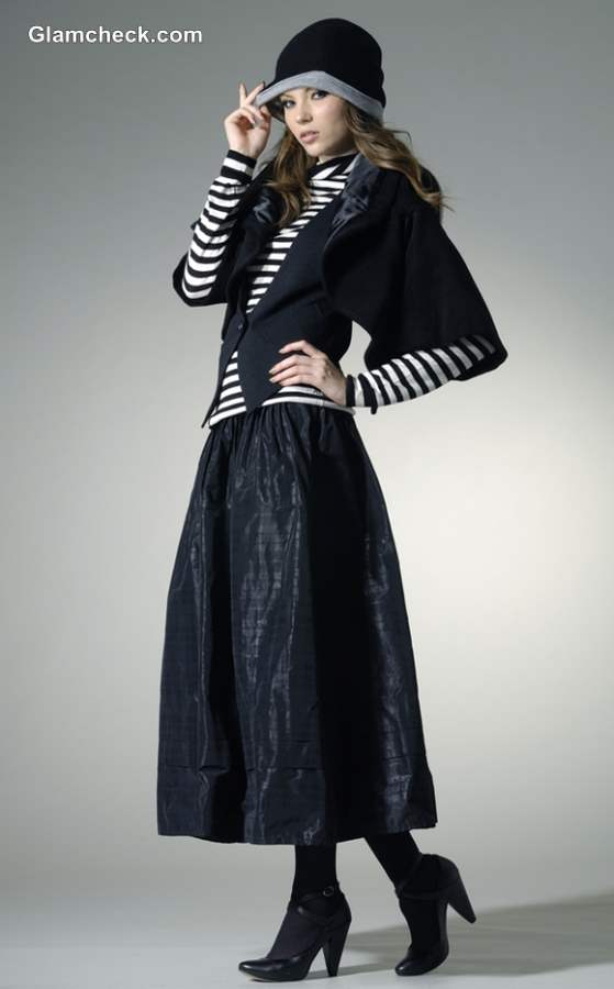 layering Skirts in Winters-dressing tips