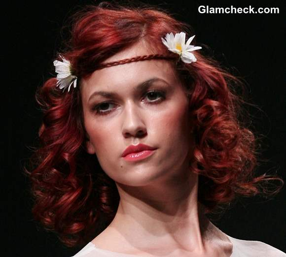 Spring Hairstyles With Flowers For Short Hair