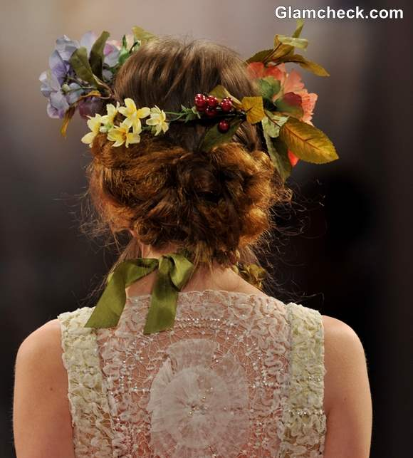 Bridal Hairstyle trend fall 2013