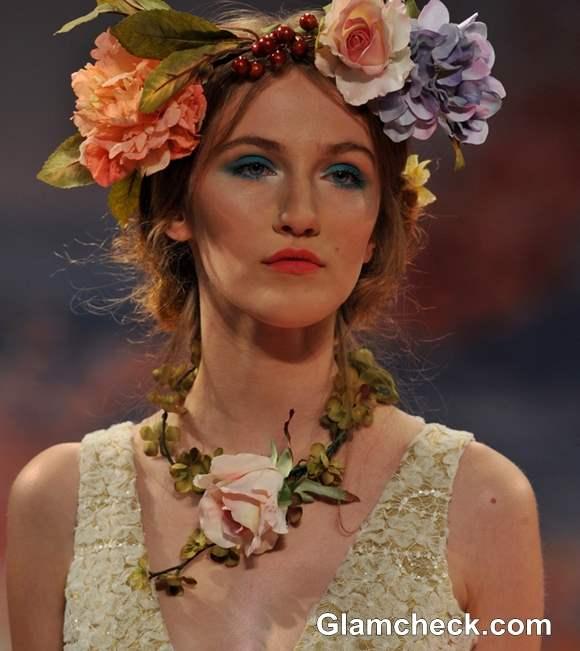Bridal Headgear trend fall 2013 Claire Pettibone