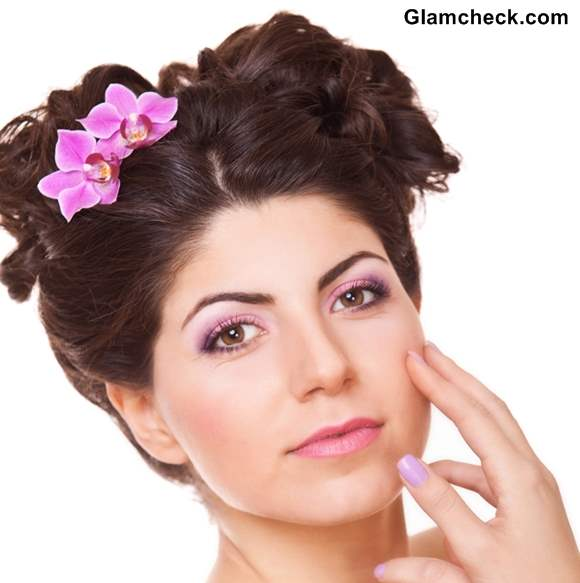 Flower Hairstyles for Short Hair