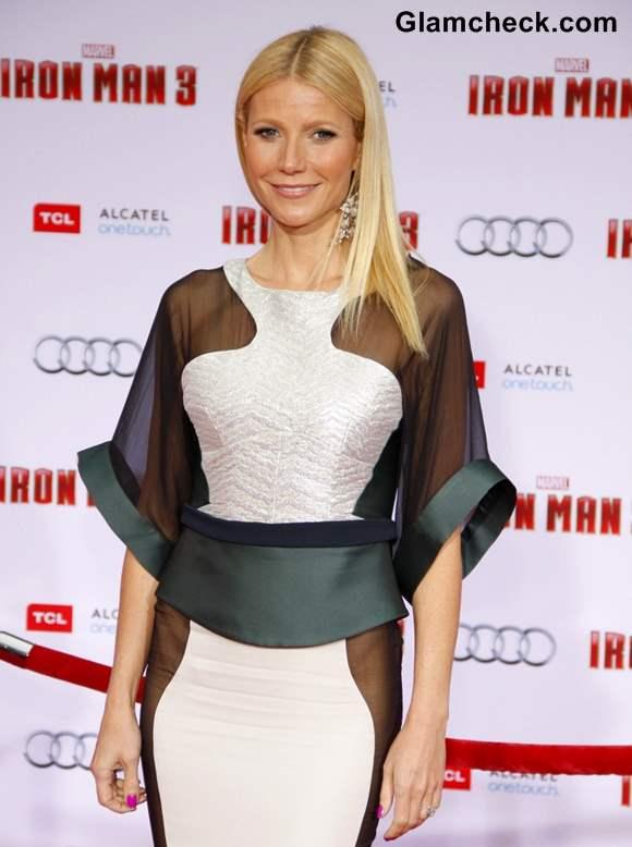Gwyneth Paltrow at Iron Man 3 premiere