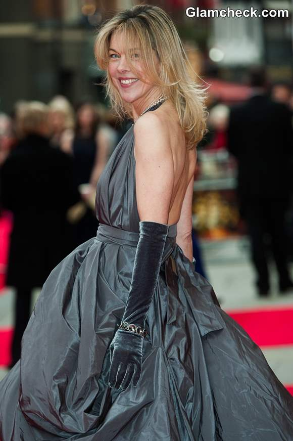Janie Dee at Laurence Olivier Awards 2013
