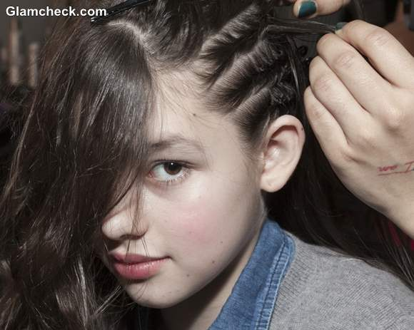Kids Hairstyle how to cornrow Braids