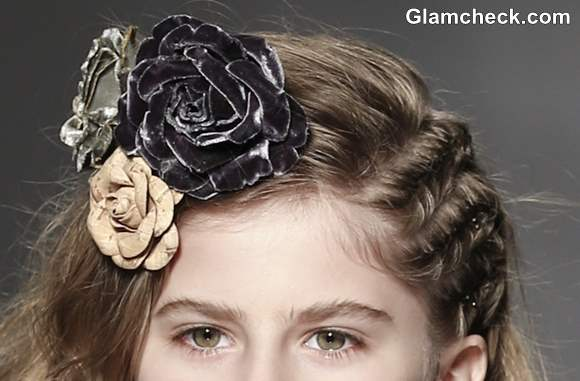 Kids Hairstyle with flowers how to