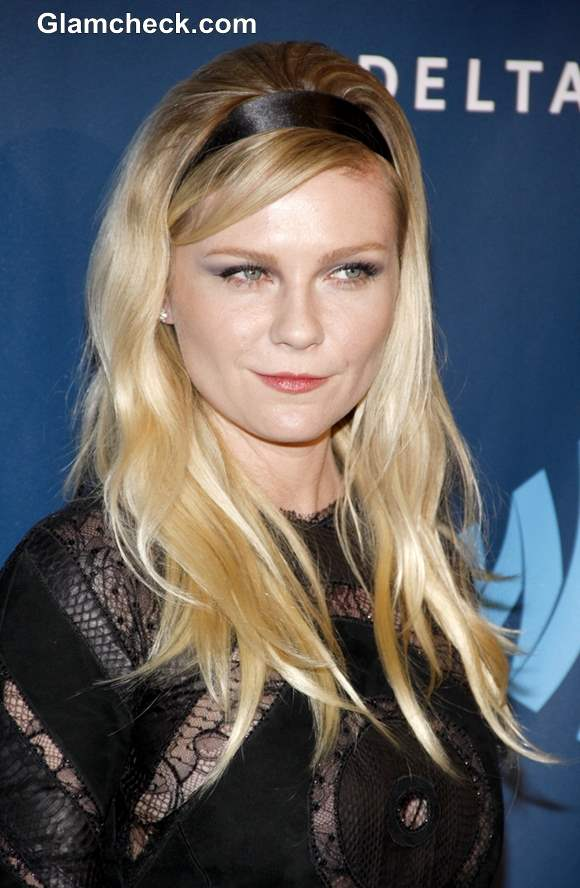 Kirsten Dunst Hairstyle at 2013 GLAAD Media Awards