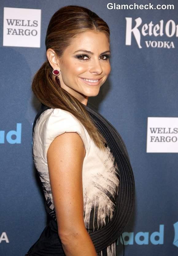 Maria Menounos Hairstyle at 2013 GLAAD Media Awards