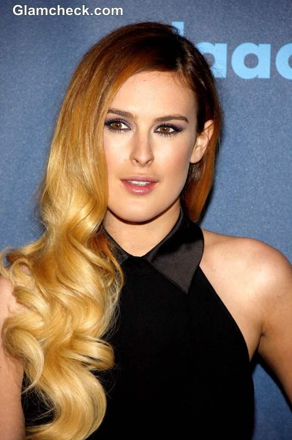 Rumer Willis Hairstyle at 2013 GLAAD Media Awards
