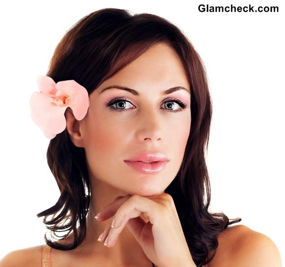 Peachy Spring Hairstyles With Flowers For Short Hair Short Hairstyles For Black Women Fulllsitofus