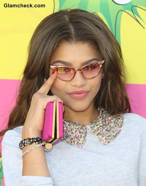 Zendaya Coleman Rocks Summer Chic Look at Kids Choice Awards 2013