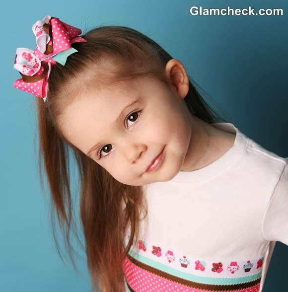 bow hair accessories for little girls