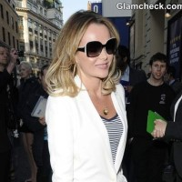 Amanda Holden at Merrily We Roll Along Press Meet