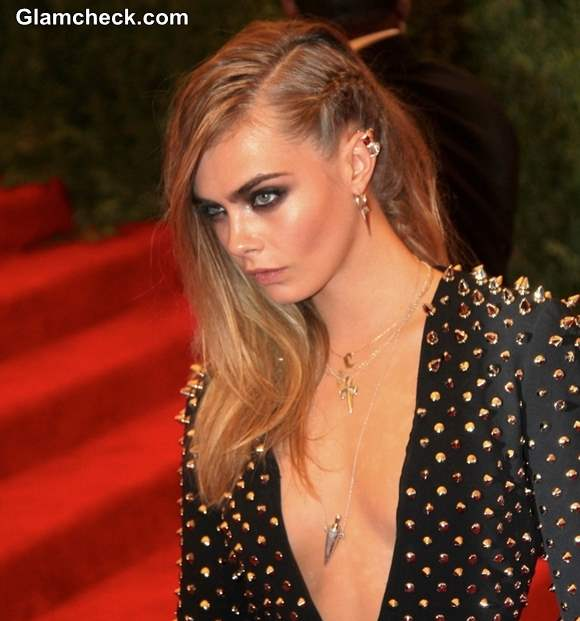 Cara Delevingne hairstyle 2013 PUNK Chaos to Couture