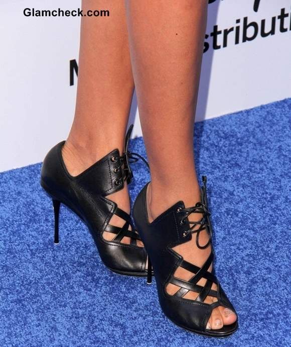 Dania Ramirez Footwear at Disney Media Networks Event 2013