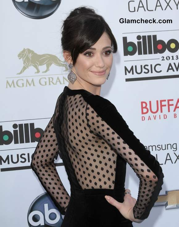 Emmy Rossum at 2013 Billboard Music Awards