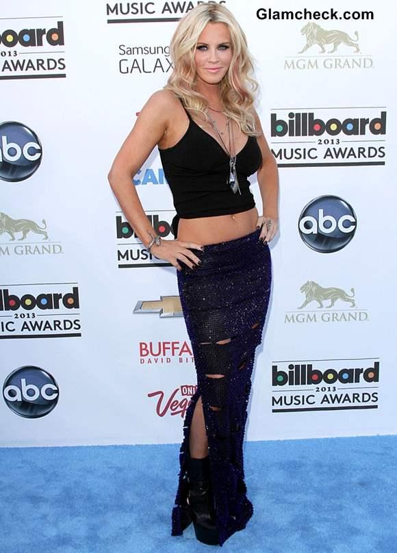 Jenny McCarthy Cropped Black Top 2013 billboard music awards