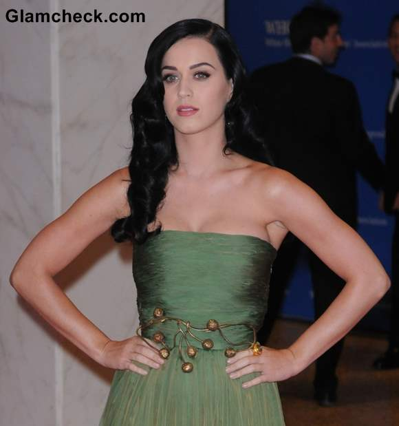 Katy Perry at White House Dinner