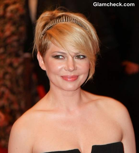 Michelle Williams hairstyle 2013 PUNK Chaos to Couture