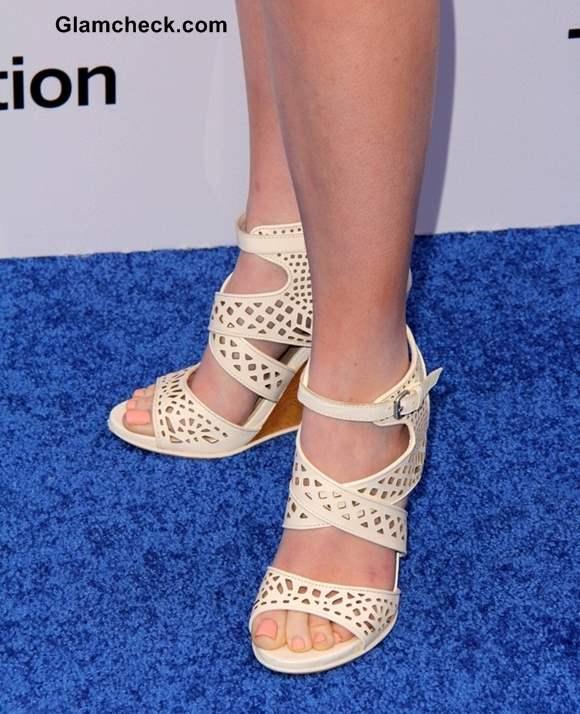 Molly Quinn Footwear at Disney Media Networks Event 2013