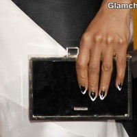 Monochrome Nail Art 2013 Kerry Washington