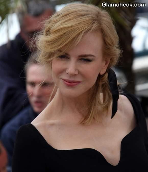 Nicole Kidman Vintage Hair  Makeup 2013 Cannes Jury Photocall