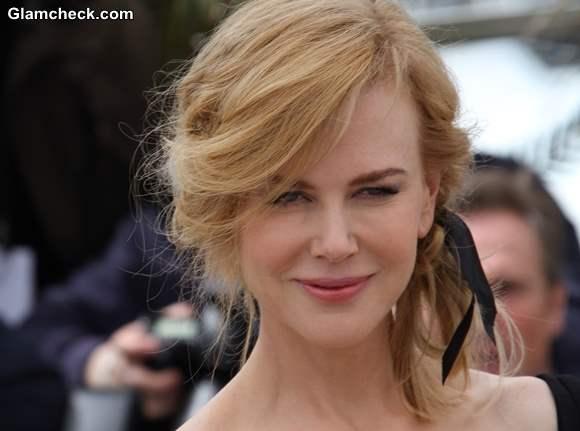 Nicole Kidman Vintage Hair  Makeup at 2013 Cannes Jury Photocall