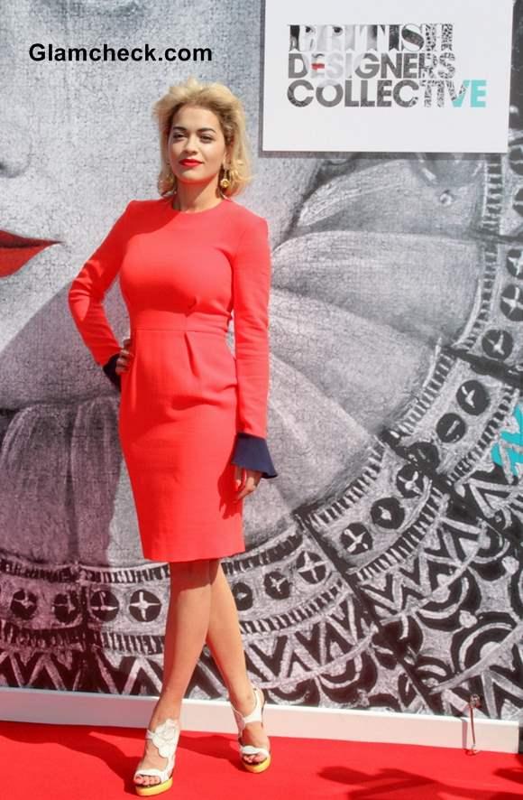 Rita Ora Supports Brit Designers Collection