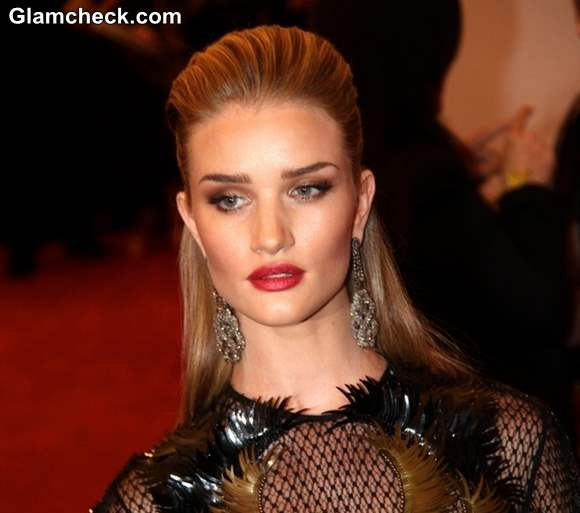 Rosie Huntington-Whiteley hairstyle 2013 PUNK Chaos to Couture