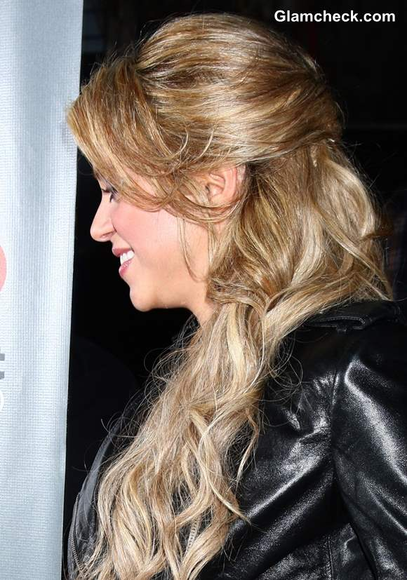 Shakira Hairstyle 2013 The Voice Top 12 Event