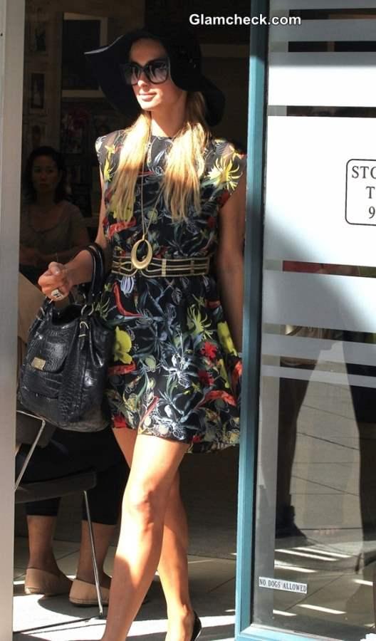 Street Fashion 2013 Paris Hilton Sexy Summer Look