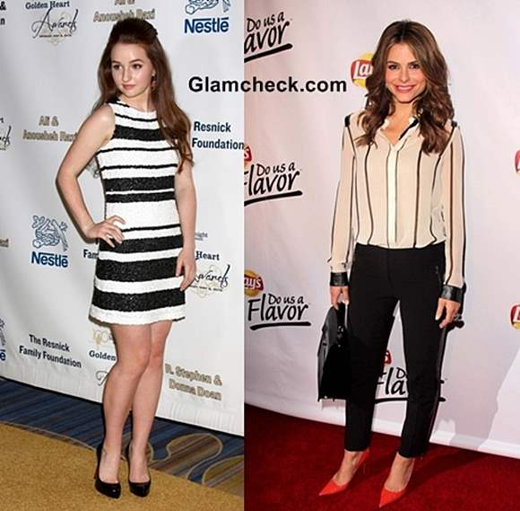 Style Inspiration- Wearing Black White Stripes 2013
