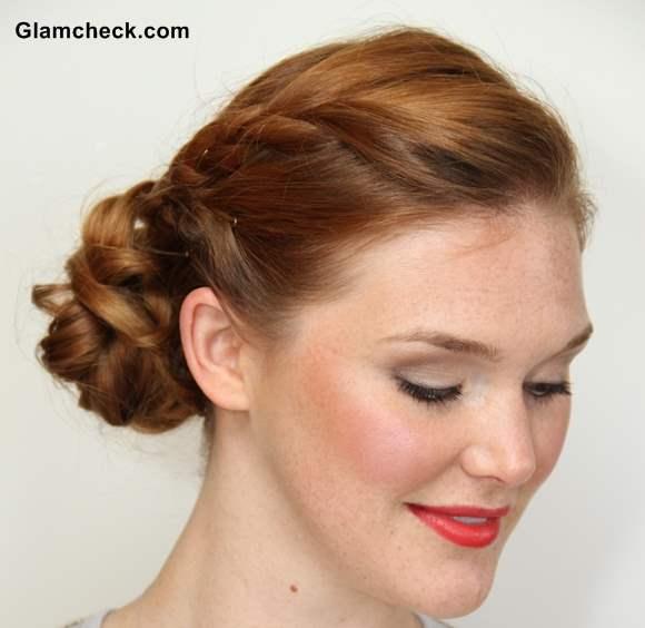 Wedding Bun Hairstyles: Hairstyle How To: Double Braided Bun For Weddings